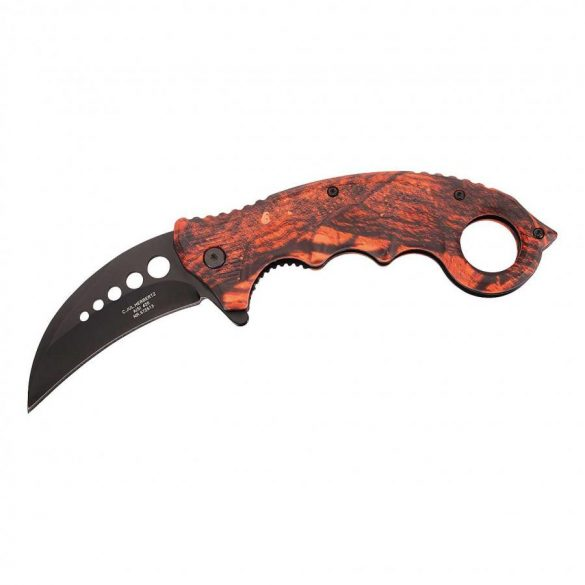 Briceag Karambit Herbertz Orange camo