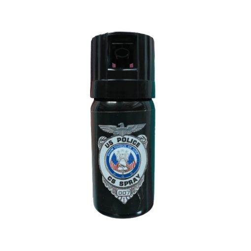 Spray lacrimogen, iritant autoaparare CS US Police, 40 ml