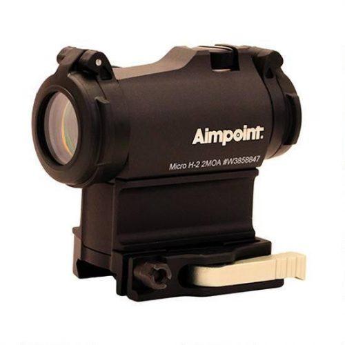 Red Dot Aimpoint Micro H-2 2MOA montura LRP Picatinny detasabil