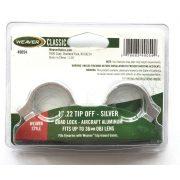 "Inele Weaver Quad Lock 1"" 9-11 mm Silver"