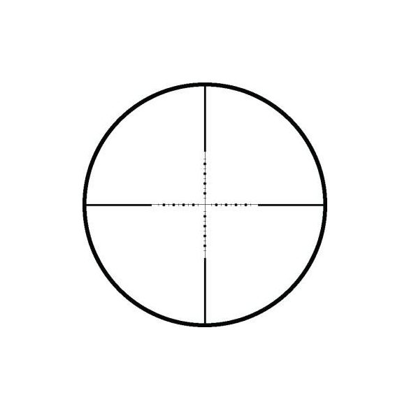 "Luneta 6-24x44 Hawke Vantage SF Half Mil-Dot 1"""