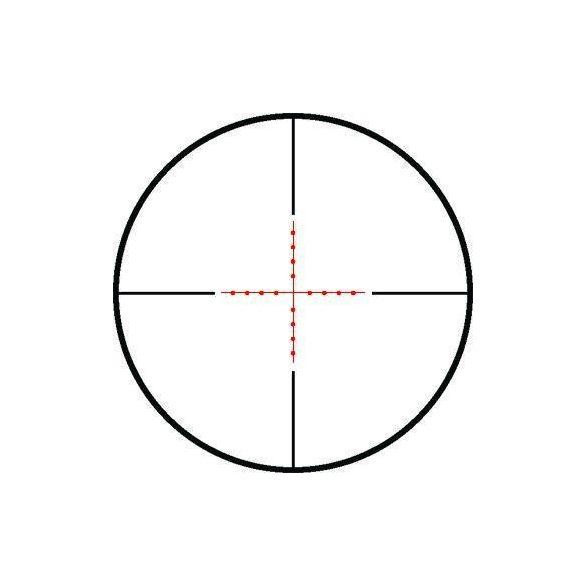 Luneta 3-9x50 Hawke Vantage IR AO Mil-Dot