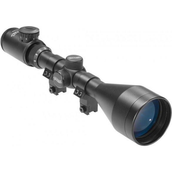 Luneta 3-9x56 Walther + inele de prindere pe sina de 9-11 mm